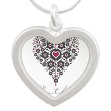 Love Cathy Silver Heart Necklace