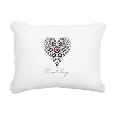 Love Cathy Rectangular Canvas Pillow
