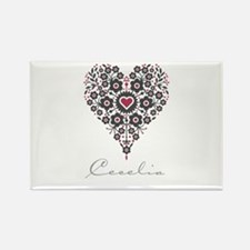 Love Cecelia Rectangle Magnet