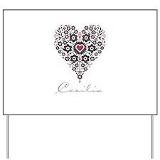 Love Cecilia Yard Sign