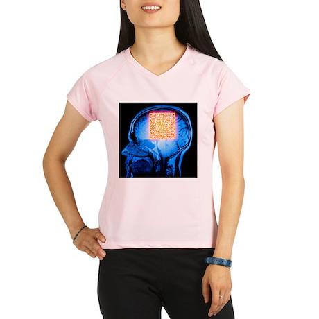 eimer's QR code - Performance Dry T-Shirt