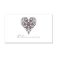 Love Charmaine Car Magnet 20 x 12