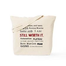 Still Worth It Tote Bag