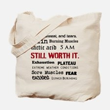 Still Worth It Tote Bag
