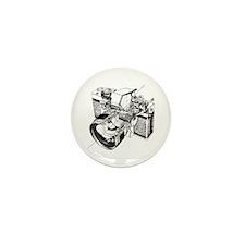 Cute Camera Mini Button (100 pack)