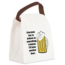 believe-in-beer.png Canvas Lunch Bag