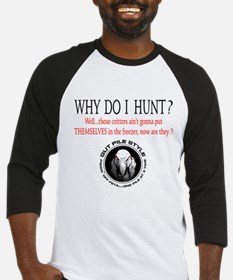 Why Hunt Adult Baseball Jersey
