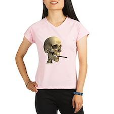 Smoking skeleton - Performance Dry T-Shirt