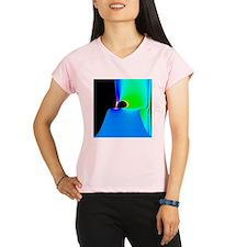 Black hole model - Performance Dry T-Shirt