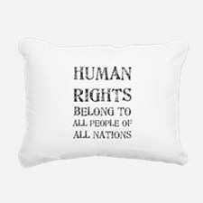 Cute Martin luther king day Rectangular Canvas Pillow
