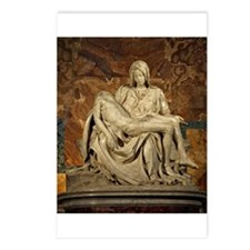 Michelangelos Pieta Postcards (Package of 8)