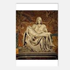 Michelangelos Pieta Postcards (Package of 8)