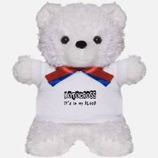 Motocross Designs Teddy Bear