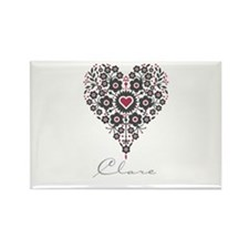 Love Clare Rectangle Magnet