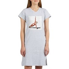 Female muscles, artwork - Women's Nightshirt