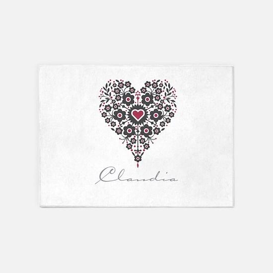 Love Claudia 5'x7'Area Rug