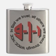 911 WACIC/NCIC Flask