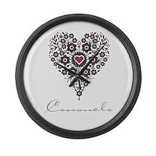 Love Consuelo Large Wall Clock