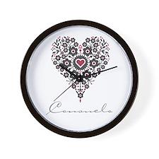 Love Consuelo Wall Clock