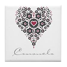 Love Consuelo Tile Coaster