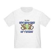Big Brother of Twins (Monkey) T-Shirt