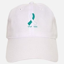 Personalized Cervical Cancer Ribbon Hat
