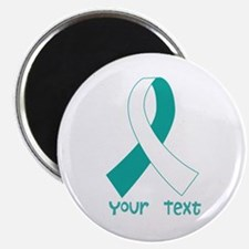 Personalized Cervical Cancer Ribbon Magnet