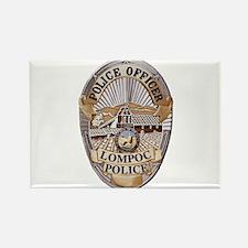 Lompoc Police Officer Rectangle Magnet