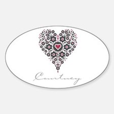 Love Courtney Decal