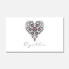 Love Cynthia Car Magnet 20 x 12