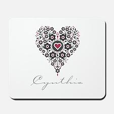 Love Cynthia Mousepad