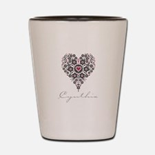 Love Cynthia Shot Glass