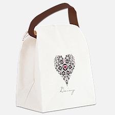 Love Daisy Canvas Lunch Bag