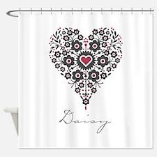 Love Daisy Shower Curtain