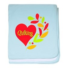 Quilting Heart baby blanket