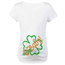 St. Patrick's Day O'Baby! Maternity Dark T-Shirt