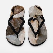Ancient Hunters Flip Flops