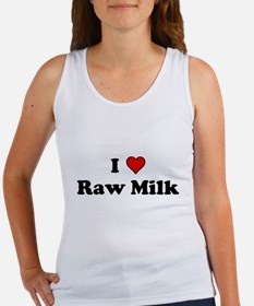 I Heart Raw Milk Tank Top