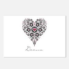 Love Deena Postcards (Package of 8)