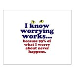 Worrying Works! Posters