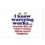 Worrying Works! Postcards (Package of 8)