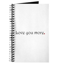 Cute Love you more Journal
