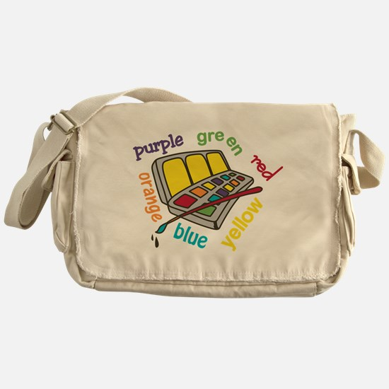 Colors Messenger Bag