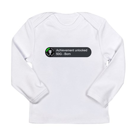 Born (Achievement) Long Sleeve T-Shirt