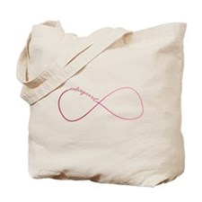 Colorguard Infinity in Pink Ombre Tote Bag