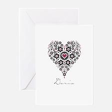 Love Doris Greeting Card
