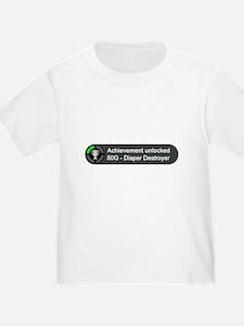Diaper Destroyer (Achievement) T-Shirt