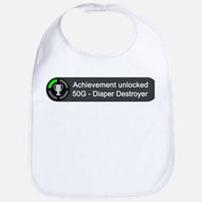 Diaper Destroyer (Achievement) Bib