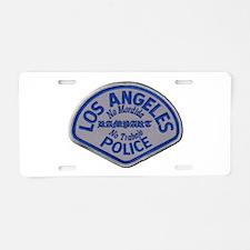 LAPD Rampart Division Aluminum License Plate