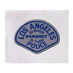 LAPD Rampart Division Throw Blanket